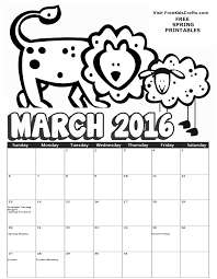 2016 coloring calendar kids coloring calendar kids