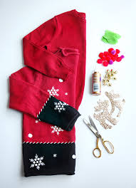 make sweaters diy crafts