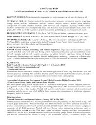 Actuary Resume Example by Sample Network Security Cover Letter Job Description For