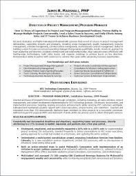 Sample Senior Management Resume Resume Summary Samples Executive Summary Resume Samples