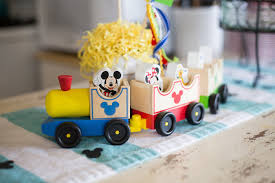 Train Decor Kara U0027s Party Ideas Mickey Mouse Diy Party Kara U0027s Party Ideas