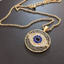hamsa eye necklace images 1pc 2016 turkish blue crystal eye pendant hamsa necklace israel jpg