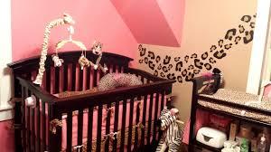 Pink Cheetah Crib Bedding Cheetah Or Leopard Print Baby Crib Set With Pink And