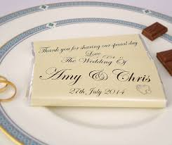 personalised heart wedding favours by tailored chocolates and