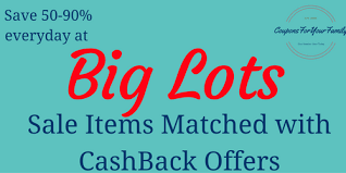 big lots coupon matchups