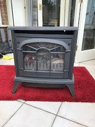 gazco large clarendon gas stove coal effect natural gas