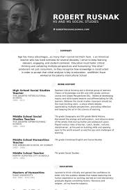 American Resume Examples by Social Studies Teacher Resume Samples Visualcv Resume Samples