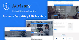 templates for business consultants advisory business consulting corporate psd template by 360degreee