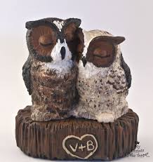 owl cake toppers bird wedding cake toppers my custom cake topper