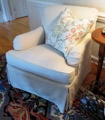 linen club chair slipcovered club chair