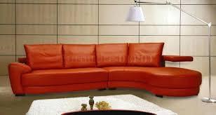 Orange Leather Sectional Sofa Orange Leather Sectional Orange Sectional Sofa Or Wisteria Modern