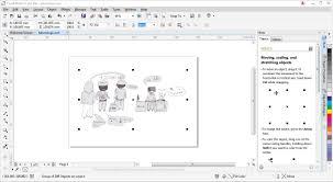 membuat gambar transparan di corel draw x7 tutorial cara membuat komik dengan coreldraw photoshop