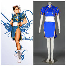 Street Fighter Halloween Costumes Buy Wholesale Street Fighter Chun Li Costume China