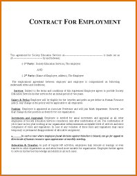 example employment contract template uk professional resumes