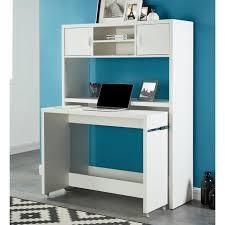 bureau concept concept bureau extensible avec rehausse contemporain blanc l 110