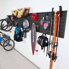 Home Depot Shelves Garage by Flow Wall Sports U0026 Bike Racks Garage Shelves U0026 Racks The