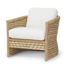 Seagrass Furniture Seagrass Woven Back Club Chair Mecox Gardens