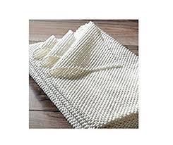 amazon com nuloom plush non slip rug pad 3 u00274 x 5 u0027 kitchen u0026 dining
