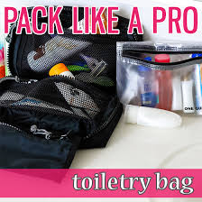 North Carolina travel toiletries images Pack like a pro toiletry bag daily mom png