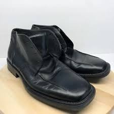 s boots in size 12 skechers s black leather lace up ankle boots made in italy