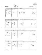 work power energy worksheet solutions i i 1 3 name e 1 a force