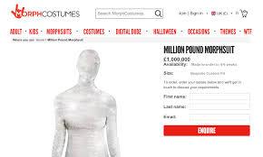halloween morph costumes diamond studded halloween costume costs 1 6 million aol lifestyle