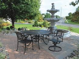 Cast Aluminium Outdoor Furniture by 4 Swivel Chair Cast Aluminium Patio Outdoor Furniture Conversation