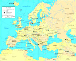 England On Map England On Europe Map Justinhubbard Me
