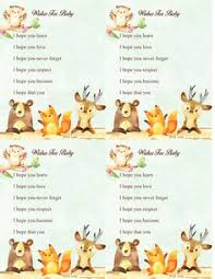 free printable woodland baby shower word search game free