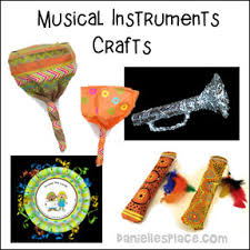 Musical Instruments Crafts For Kids - cheap and easy crafts kids can make from danielle u0027s place