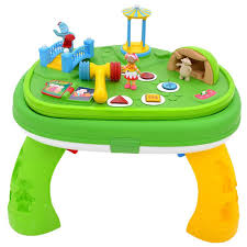 night garden explore learn activity table toys