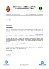 Sample Application Letter For Teacher Job Resume