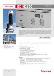 substation automation ingesas is ingeteam power technology s a