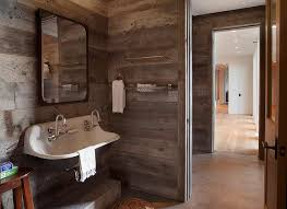 cabin bathroom designs country cabin boys bathroom with barn board walls country bathroom