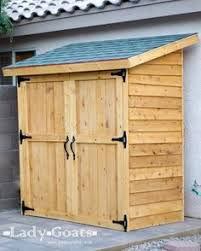 Diy Lean To Storage Shed Plans by 4x10 Lean To Shed Plans U2026 Pinteres U2026