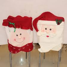 Christmas Chair Back Covers Aliexpress Com Buy 2pcs Christmas Supplies Dining Chair Cover