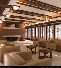 frederick c robie house by jason lee 3d cgsociety interiors