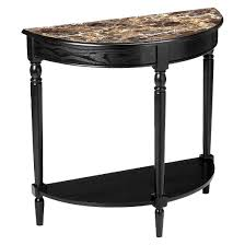 Entryway Furniture Target French Country Faux Marble Entryway Table Black Convenience