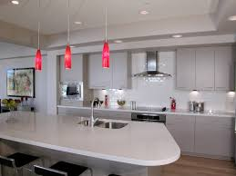red pendant lights the perfect accent color for a muted ta u2026 flickr