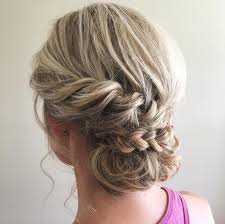 Elegant Chignon Hairstyle by 40 Irresistible Hairstyles For Brides And Bridesmaids