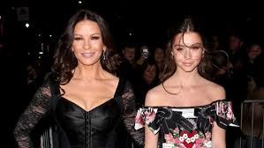 catherine zeta jones catherine zeta jones and daughter steal show at new york fashion
