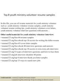 Youth Worker Resume Cover Letter Youth Resume Examples Youth Worker Resume Examples