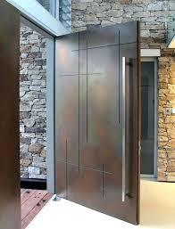 modern door front door modern design set of front doors of modern design with