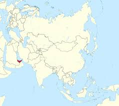 United Arab Emirates Map File United Arab Emirates In Asia Mini Map Rivers Svg