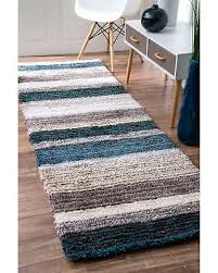 Plush Runner Rugs Savings On Havenside Home Siesta Handmade Striped Plush