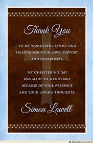 religious thank you cards blue single photo christening thank you baby boy