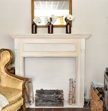 Make A Fireplace Mantel by Faux Brick Fireplace Mantel Backdrop Jennifer Rizzo Diy