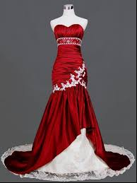 Red And White Wedding Dresses Cheap Red And White Wedding Dresses Dress Yp