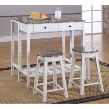 amazon com breakfast pub table set kitchen u0026 dining