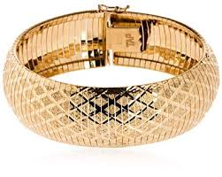 gold omega bracelet images Silverluxe sterling silver 18 kt gold plated diamond jpg